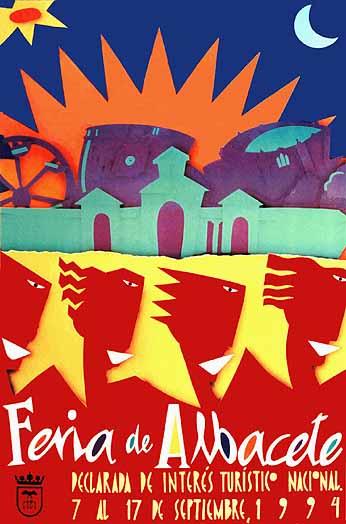 Cartel Feria Albacete 1994
