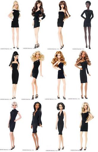Barbie Basics LBD: fotos de los prototipos de las 12 muñecas de cuerpo entero