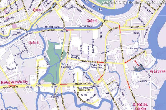 Jamnona city - Dự án Biệt thự Căn hộ Jamnona city Quận 7