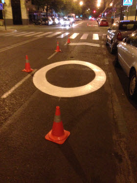 Más carriles 30 por la zona de calles de BiciMAD y aledañas