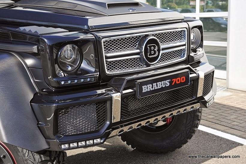 Brabus B63S Mercedes-Benz G 6x6
