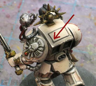 metallic weathering powders over light armour