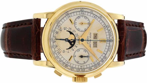 1956 metų Patek Philippe chronografas