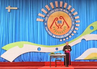 Bài thuyết trình thứ hai tại Đại hội Giới trẻ giáo tỉnh Hà Nội lần thứ 12