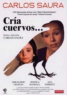 Cría cuervos..., una de las películas de Carlos Saura