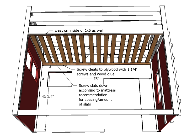 Loft Bunk Bed Diy PDF Woodworking