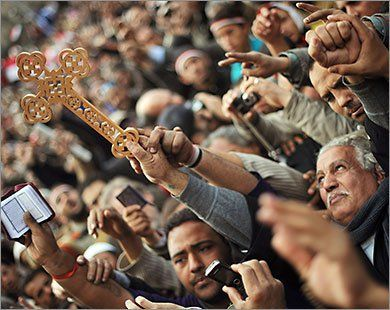 Egyptian Revolution شريف الحكيم Copticmass