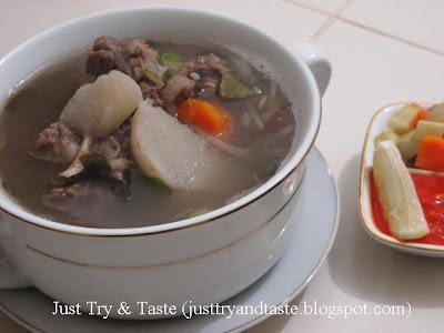 Resep Sup Iga, Kentang dan Wortel JTT