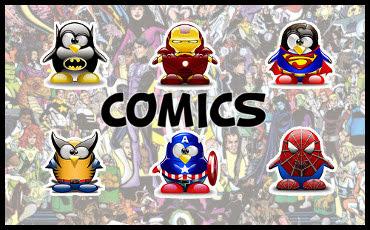 Comics Tux