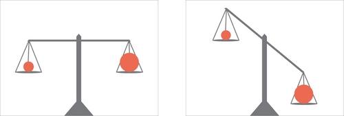 Симметрия и ассиметрия в композиции