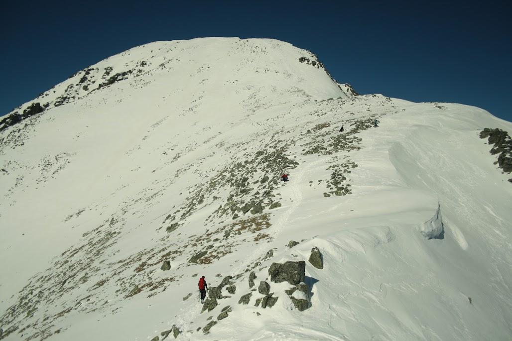 Sławkowski Szczyt zima
