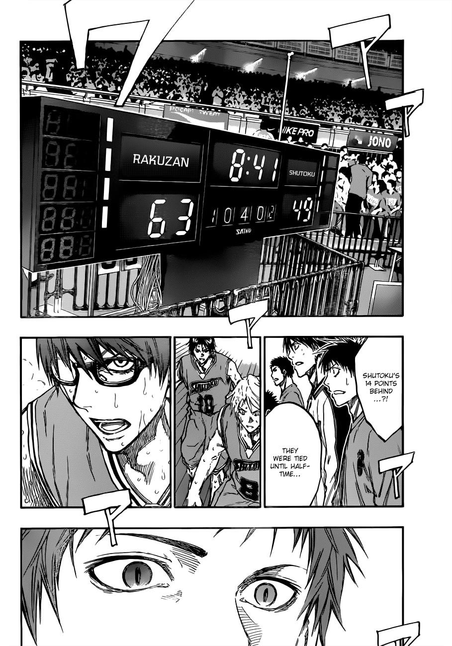 Kuroko no Basket Manga Chapter 179 - Image 02