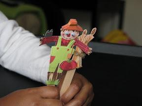 Sticko Sticker puppets