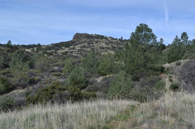 rock outcrop ahead