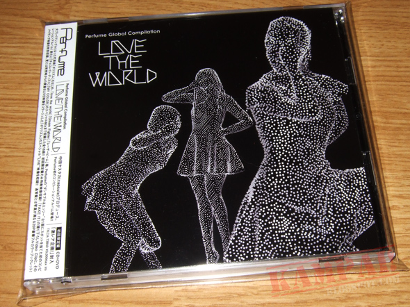 "[CD Packaging] Perfume - Perfume Global Compilation ""LOVE THE WORLD"" (CD+DVD)"