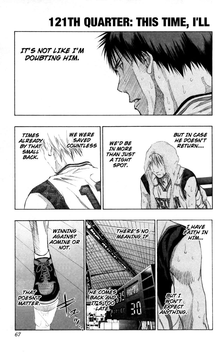 Kuroko no Basket Manga Chapter 121 - Image 01