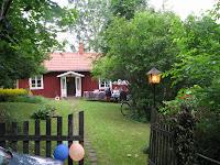 Det gamla soldat torpet i Väversunda. Min dotter Åsa Qvarfordt Arkös underbara sommarhus i naturskön omgivning.