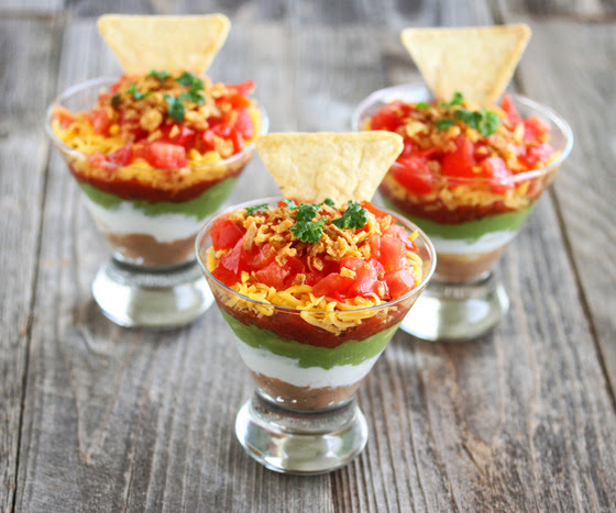 photo of Seven-Layer Dip Cups