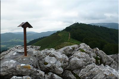 Tellamendi visto desde Lurgorri