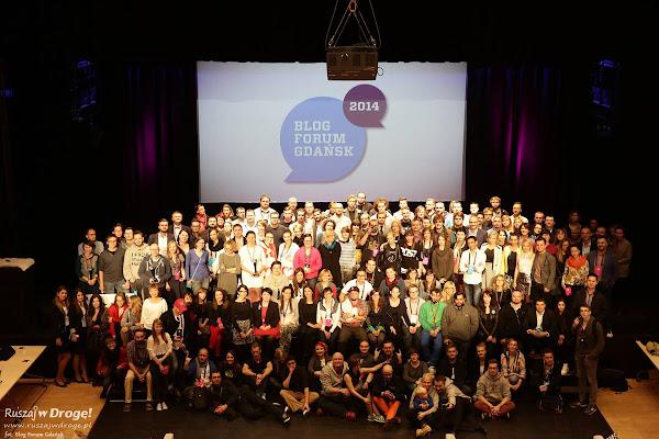 Blog Forum Gdańsk 2014 - zdjęcie grupowe