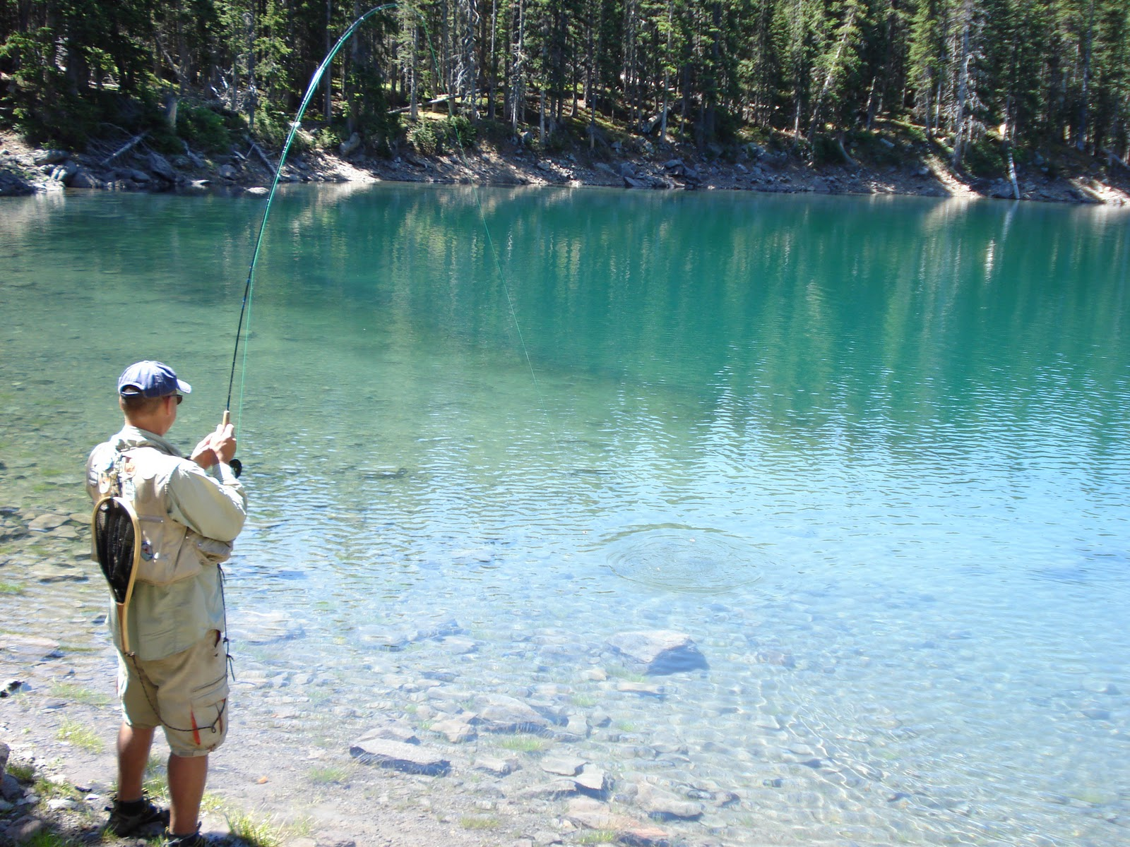 Fishing our way across colorado 50 days 2 writers this for Fishing lakes in colorado springs
