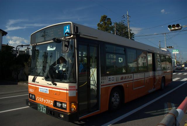 東武バスウエスト9667号車 レインボーHR