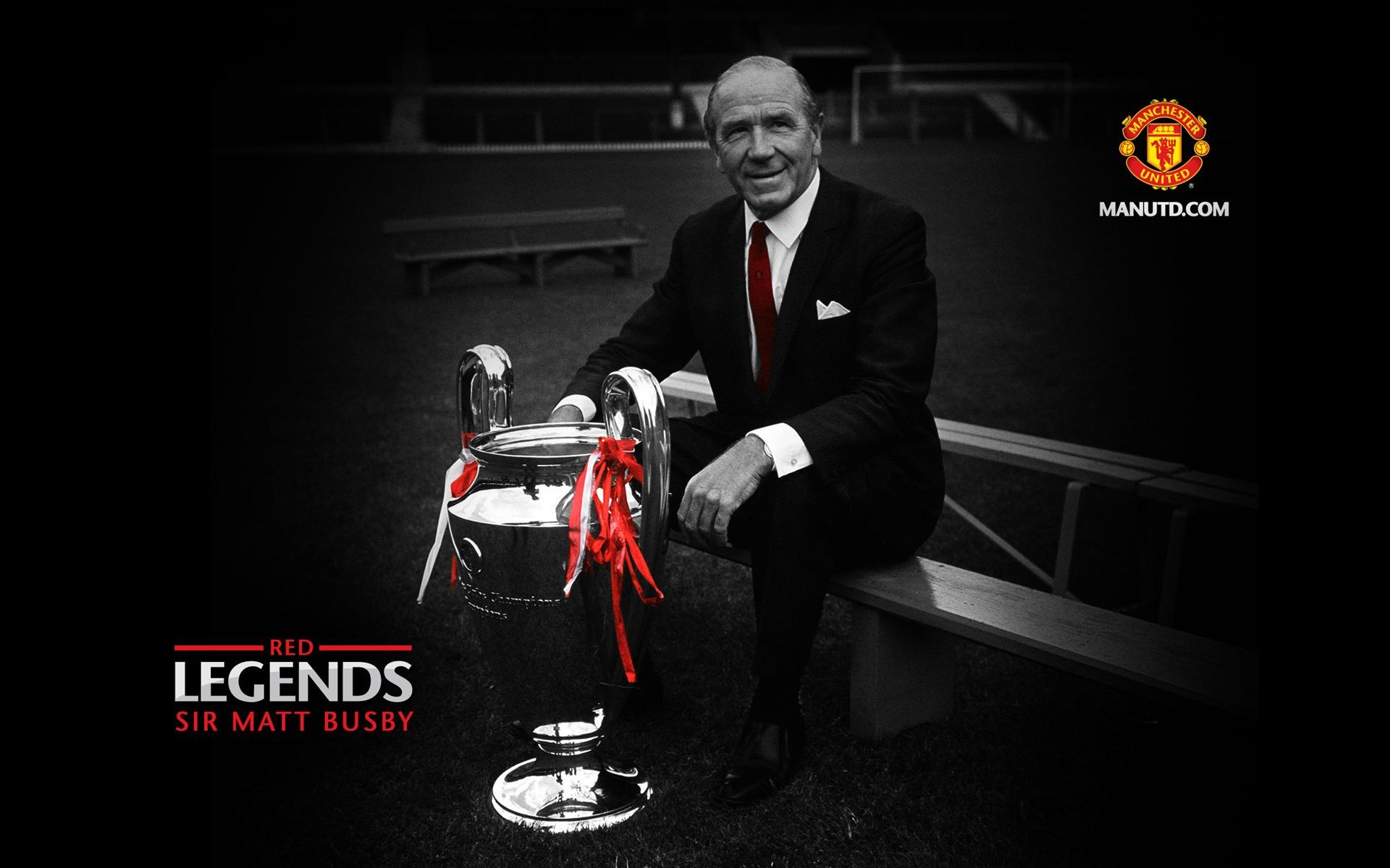 Sir Matt Red Legends Manchester United  Mystery Wallpaper