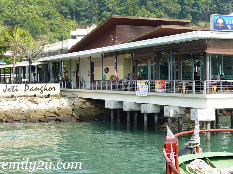Lumut Pangkor ferry time table