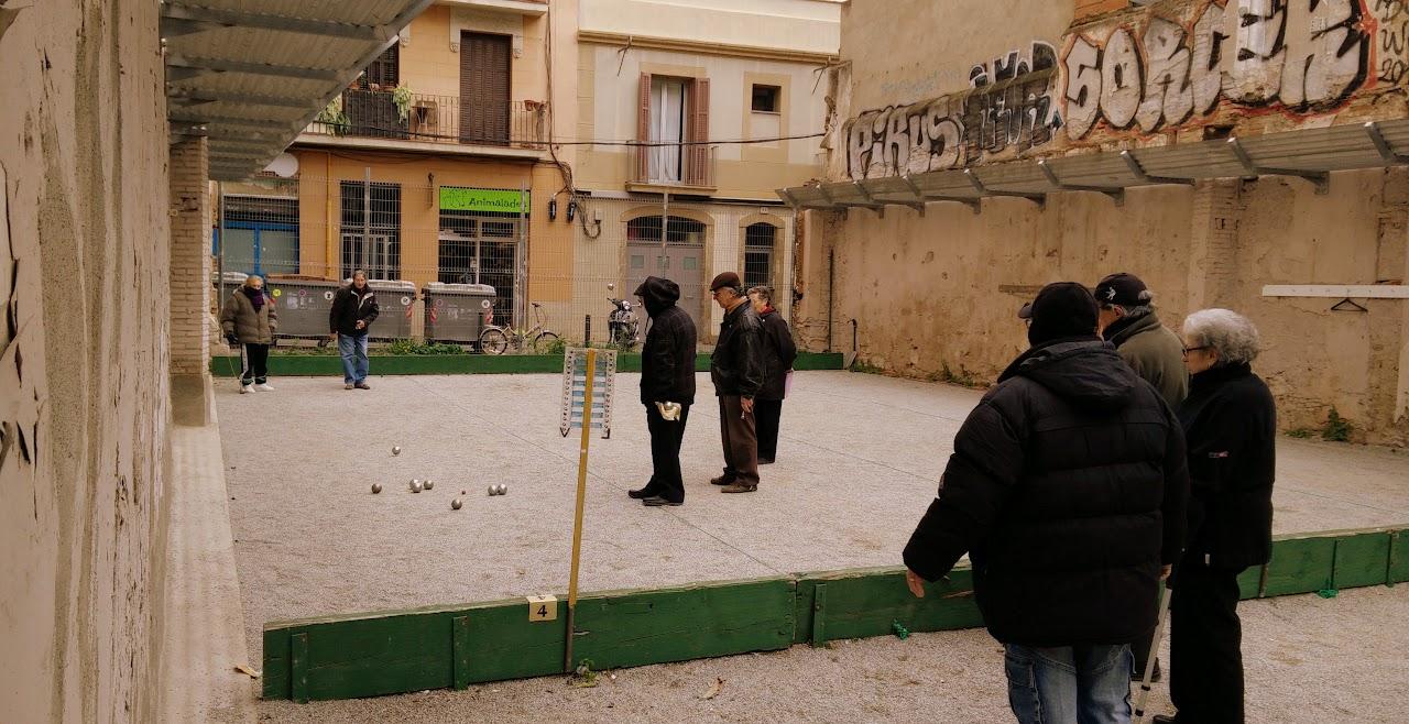 Petanque in Barcelona