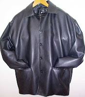 button-front tactile jacket made in London