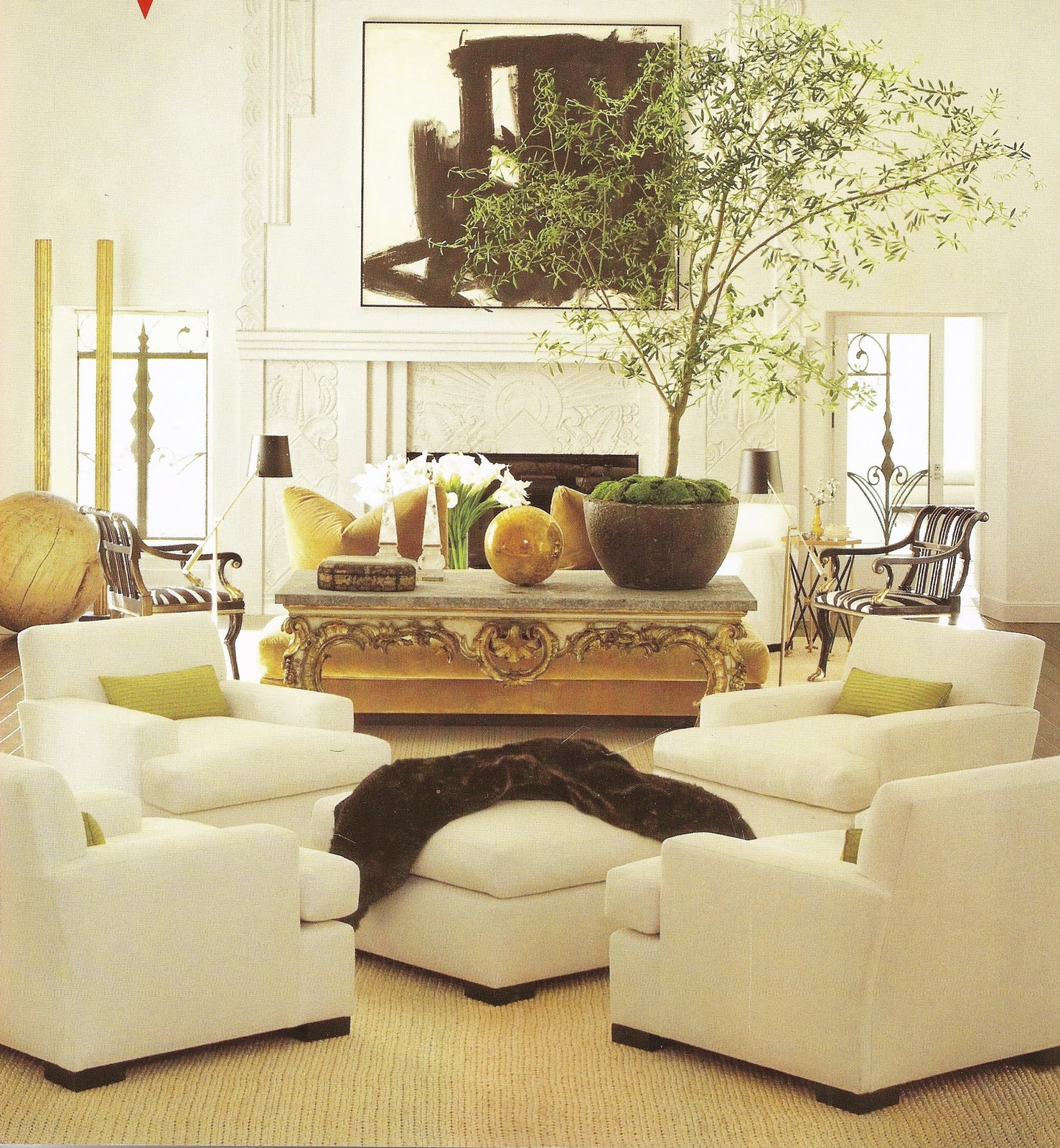 Top 4 Comfortable Chairs For Living Room: Acanthus And Acorn: The Alternative Room