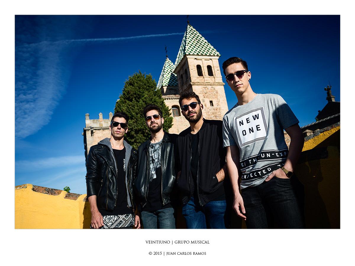 Veintiuno grupo de musica por Juan Carlos Ramos fotógrafo de toledo