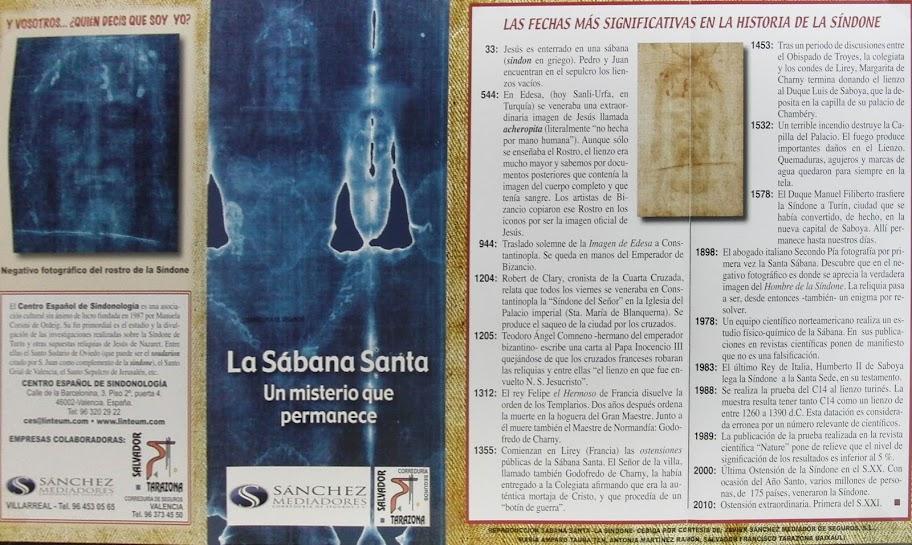 Sábana Santa en Sant Francesc. Xàtiva 2012.