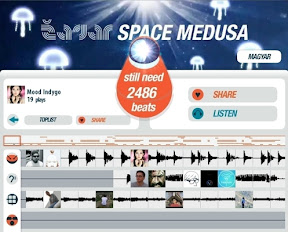 Zagar - Space Medusa Facebook App