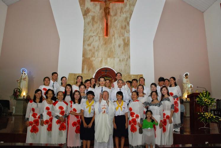 Giáo khu Phanxicô Xaviê Gx Phú Hòa mừng lễ bổn mạng