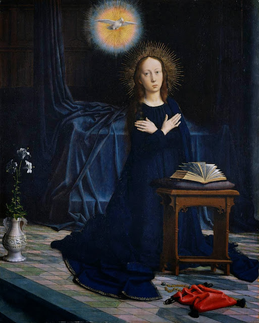 Gerard David - The Virgin of the Annunciation