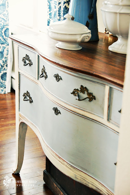 Weathered Look Chalk Paint