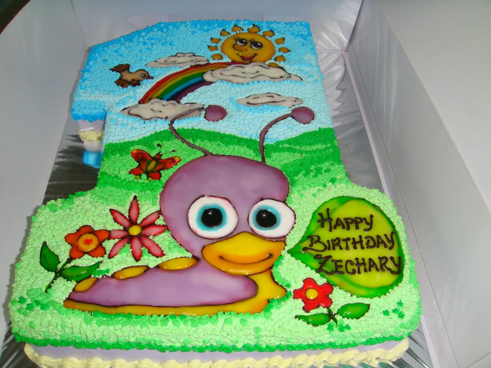 Yummy Baking Babytv Tulli Snail Birthday Cake