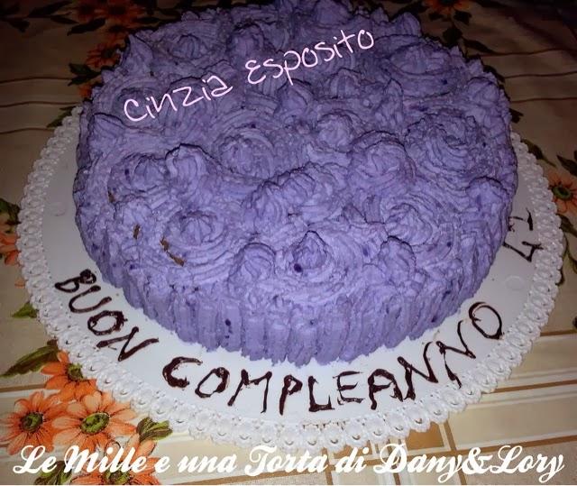 torte decorata farcita cin panna e mascarpone