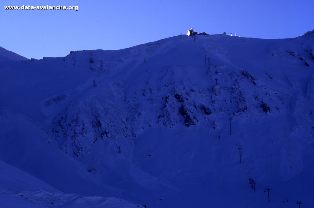 Avalanche Mont Thabor, secteur Punta Bagna, Couloir Nord - Photo 1