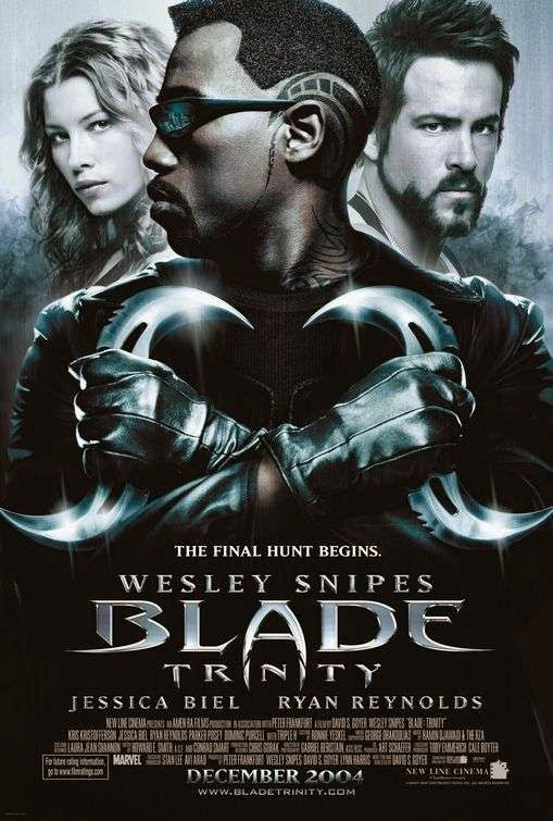 Poster Of Blade: Trinity (2004) Full Movie Hindi Dubbed Free Download Watch Online At Alldownloads4u.Com