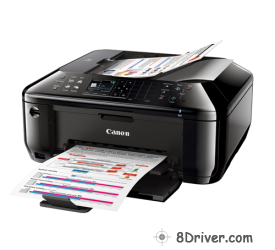 download Canon PIXMA MX512 printer's driver