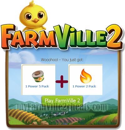 FarmVille 2 Freebies - 7 X power