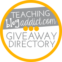 Teaching Blog Addict Giveaway Directory