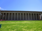 Nashville's life-size replica of the Parthenon