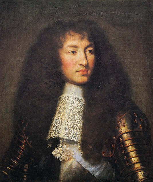 Charles Le Brun - Portrait of Louis XIV, 1661