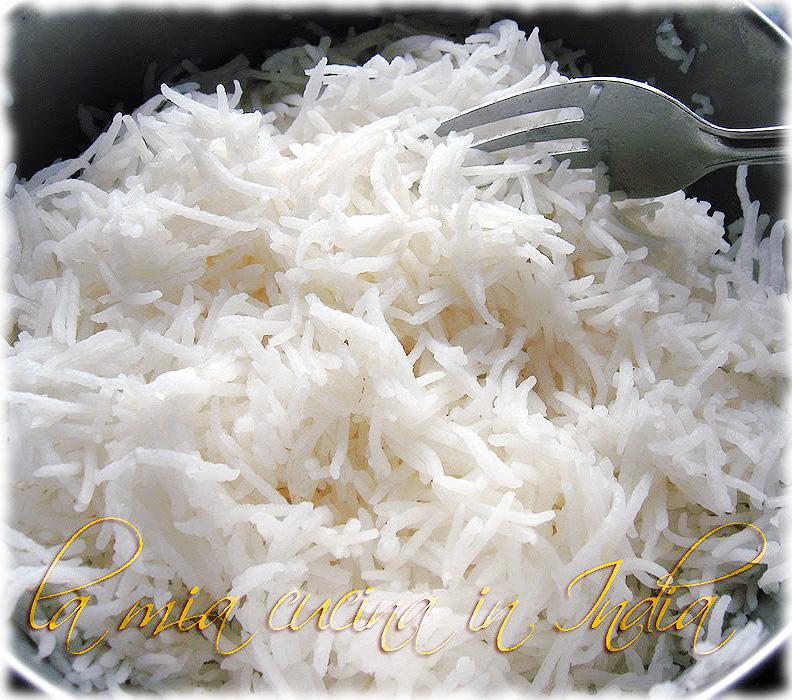 la mia cucina in india: come cucinare il riso basmati in modo perfetto - Come Cucinare Il Gallo
