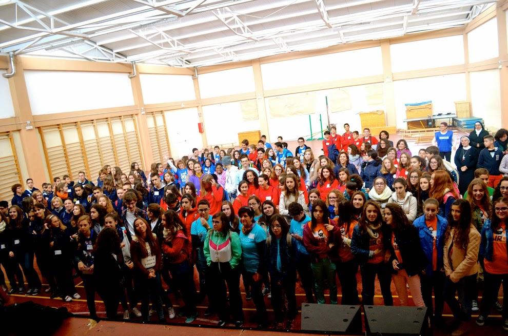 Bienvenida Kairós a todos los adolescentes que participaron en este encuentro