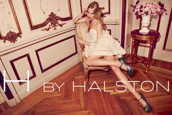 H by Halston Holiday 2011 campaign