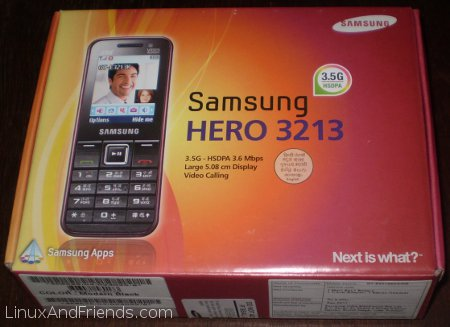 Samsung 3G cell phone